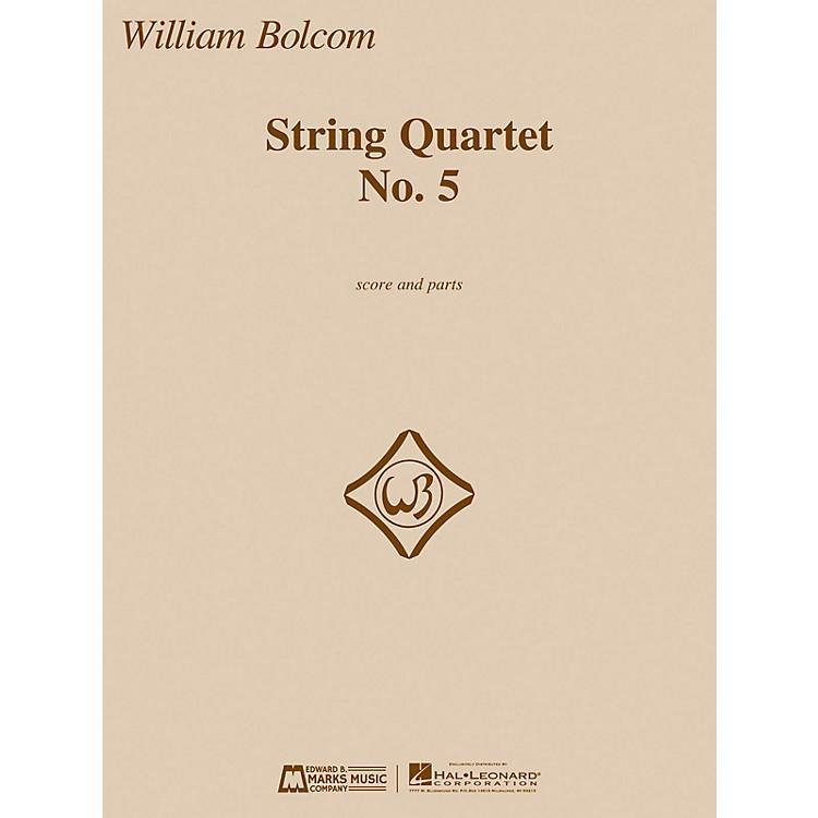 Edward B. Marks Music CompanyString Quartet No. 5 E.B. Marks Series Composed by William Bolcom