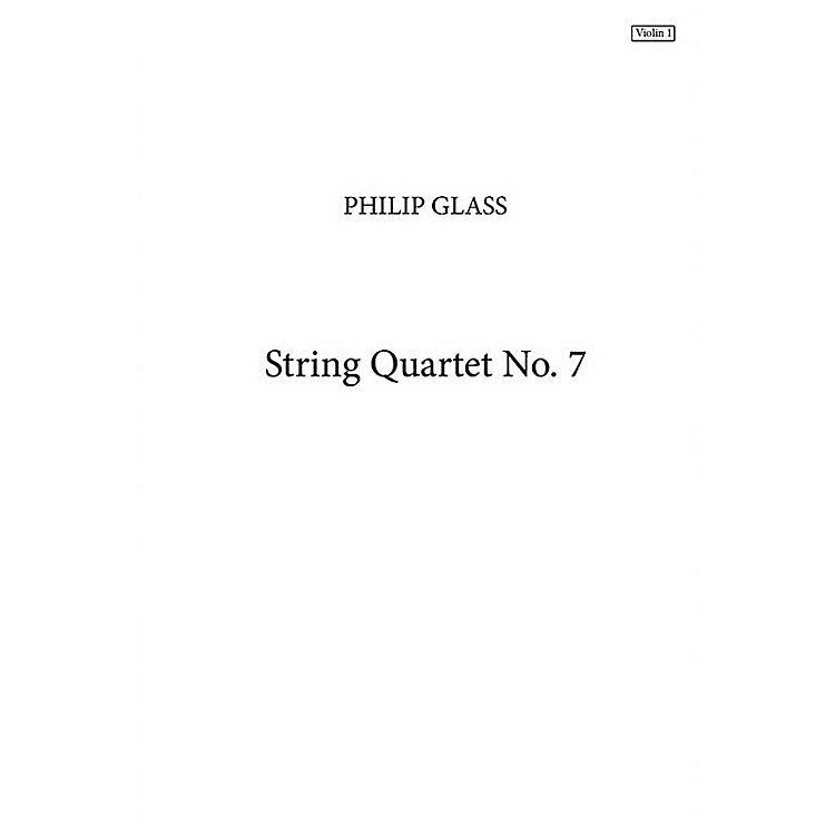 Music Sales String Quartet No. 7 (Parts Only) Music Sales America Series Softcover