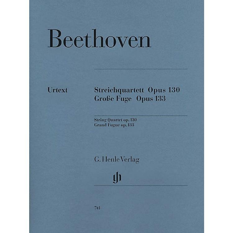 G. Henle VerlagString Quartet in B-flat Major, Op. 130 and Great Fugue, Op. 133 Henle Music by Ludwig van Beethoven