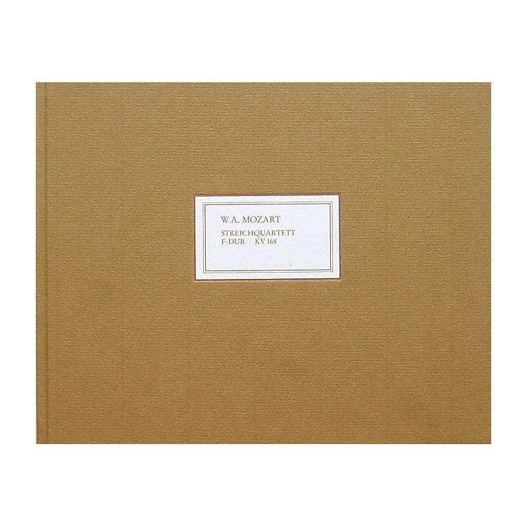 G. Henle VerlagString Quartet in F Major K168 (Facsimile) Henle Facsimile Series Hardcover