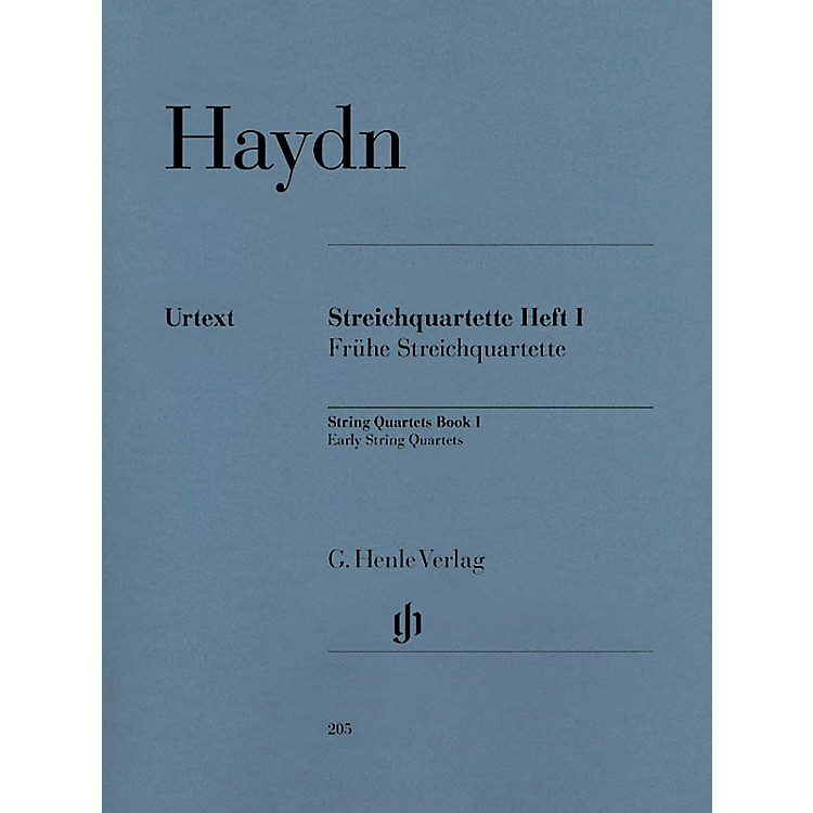 G. Henle VerlagString Quartets - Volume I Henle Music Folios Series Softcover Composed by Franz Josef Haydn