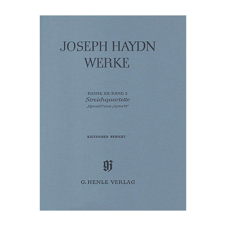 G. Henle VerlagString Quartets, Op. 20 and Op. 33 Henle Edition Series Hardcover