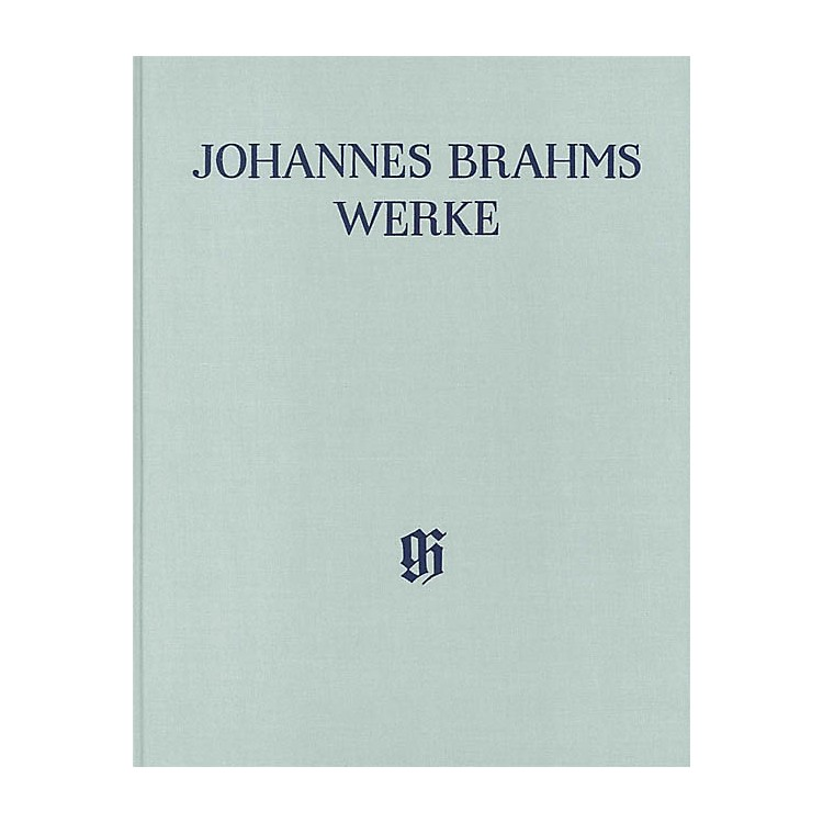 G. Henle Verlag String Quartets Op. 51 and 67 Henle Edition Hardcover by Johannes Brahms Edited by Salome Reiser