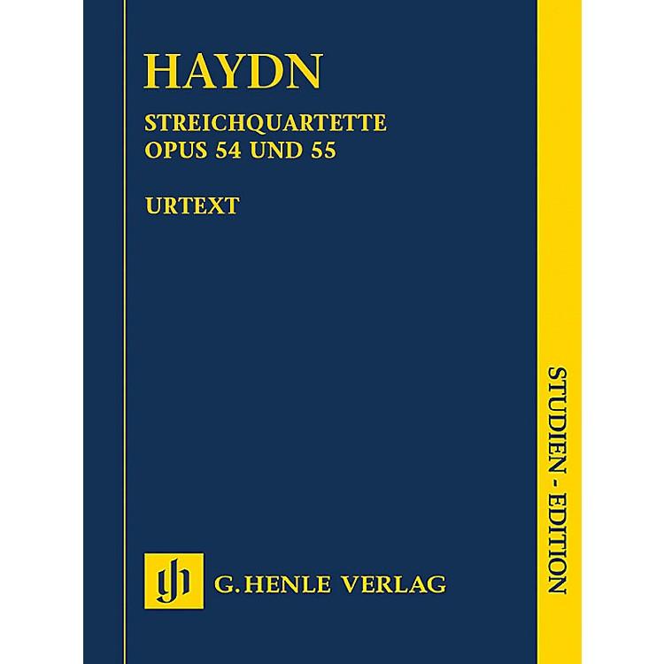 G. Henle VerlagString Quartets Vol. VII, Op. 54 and Op. 55 (Tost Quartets) Henle Study Scores by Haydn Edited by Webster