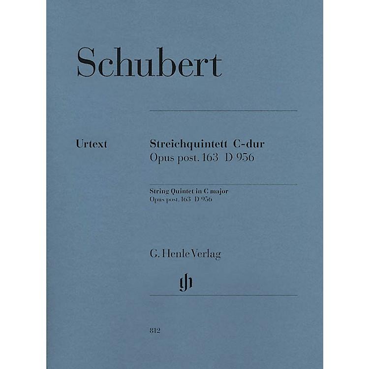 G. Henle VerlagString Quintet C Major Op. Posth. 163 D 956 Henle Music Folios Series Softcover by Franz Schubert