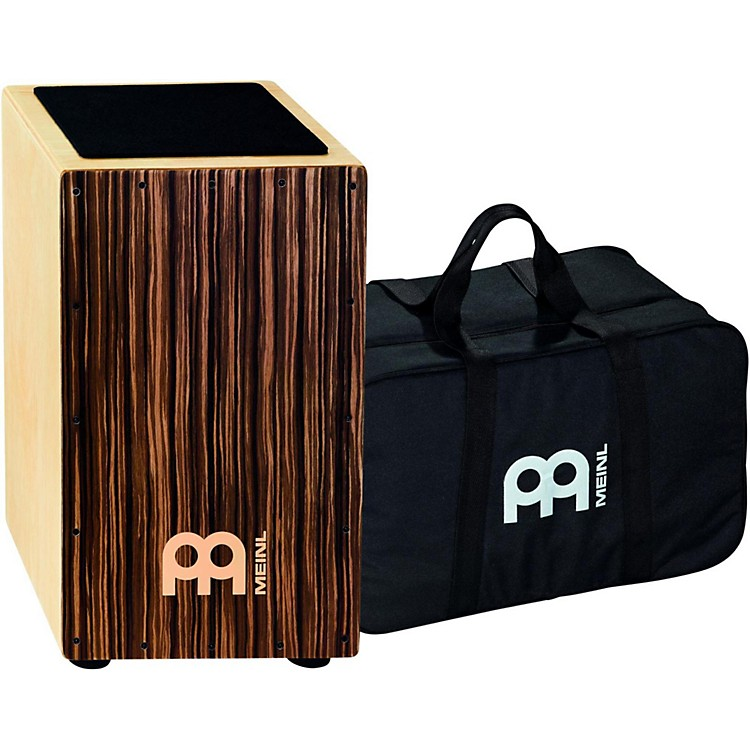 Meinl Striped Umber String Cajon with Bag  Medium