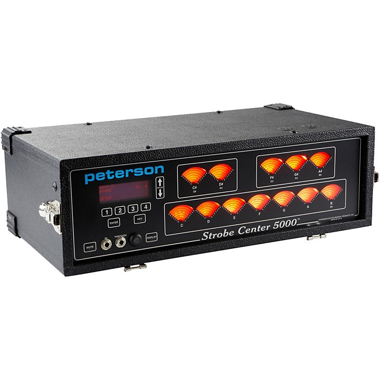 Peterson Strobe Center 5000-II Tuner
