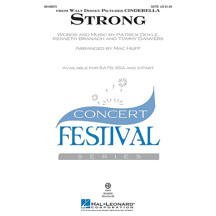 Hal LeonardStrong (from Cinderella) ShowTrax CD Arranged by Mac Huff