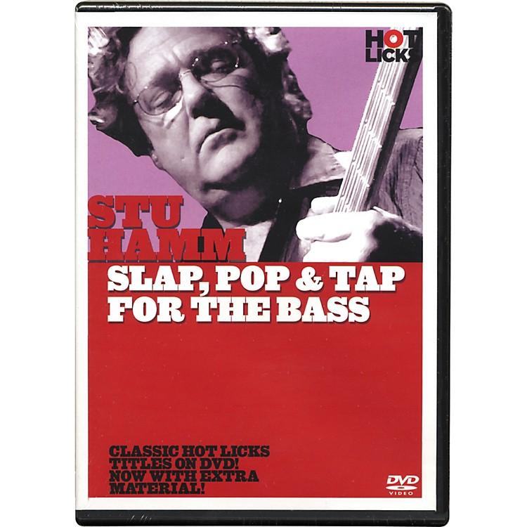 Hot LicksStu Hamm Slap, Pop & Tap for the Bass DVD