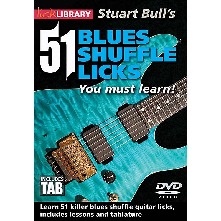 LicklibraryStuart Bull's 51 Blues Shuffle Licks You Must Learn! Lick Library Series DVD Performed by Stuart Bull