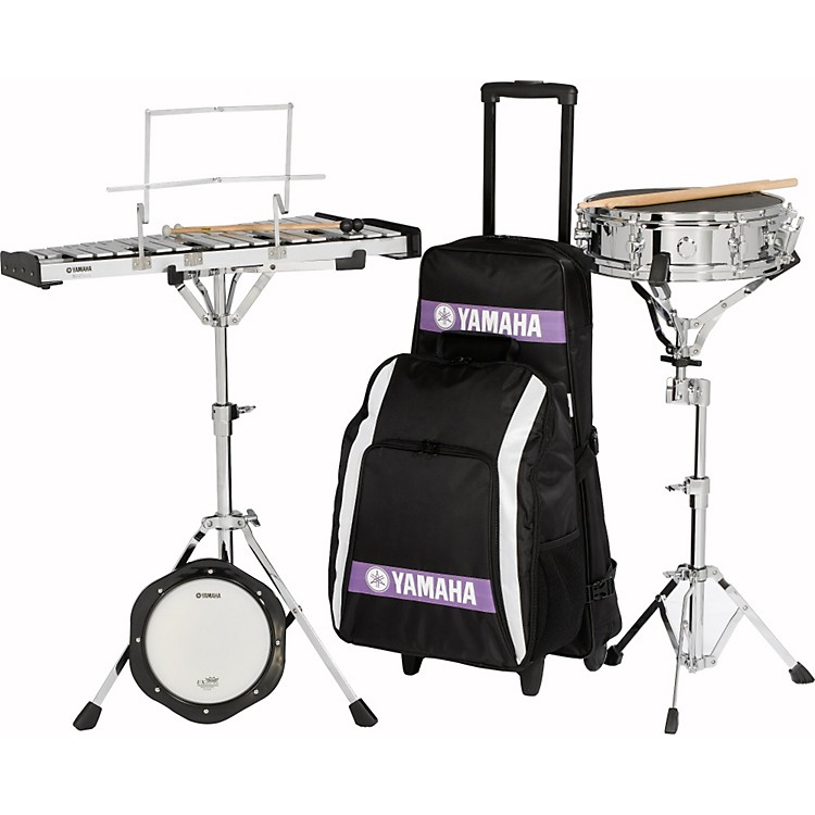 YamahaStudent Combination Snare/Bell Kit with Backpack and Rolling Cart