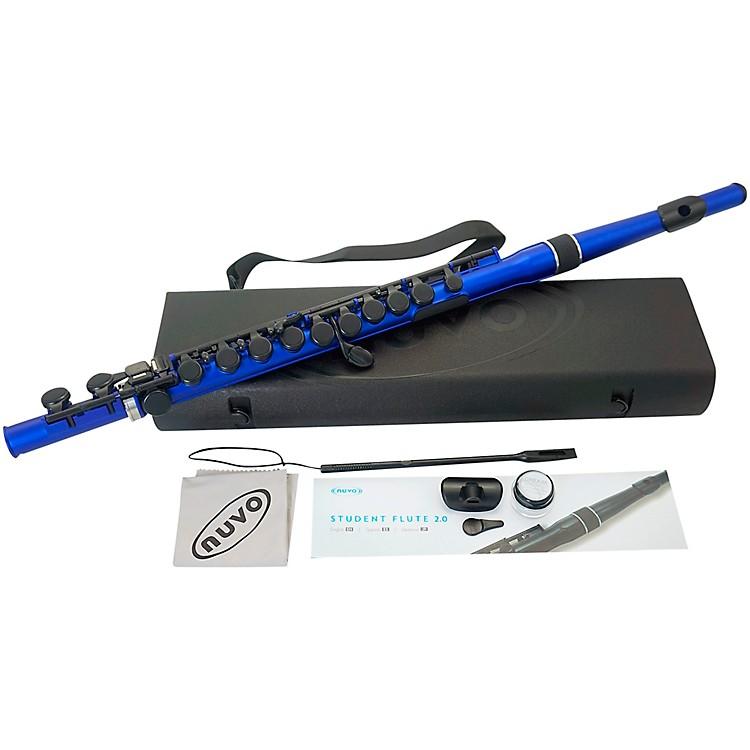 NuvoStudent Flute 2.0Silver/Black