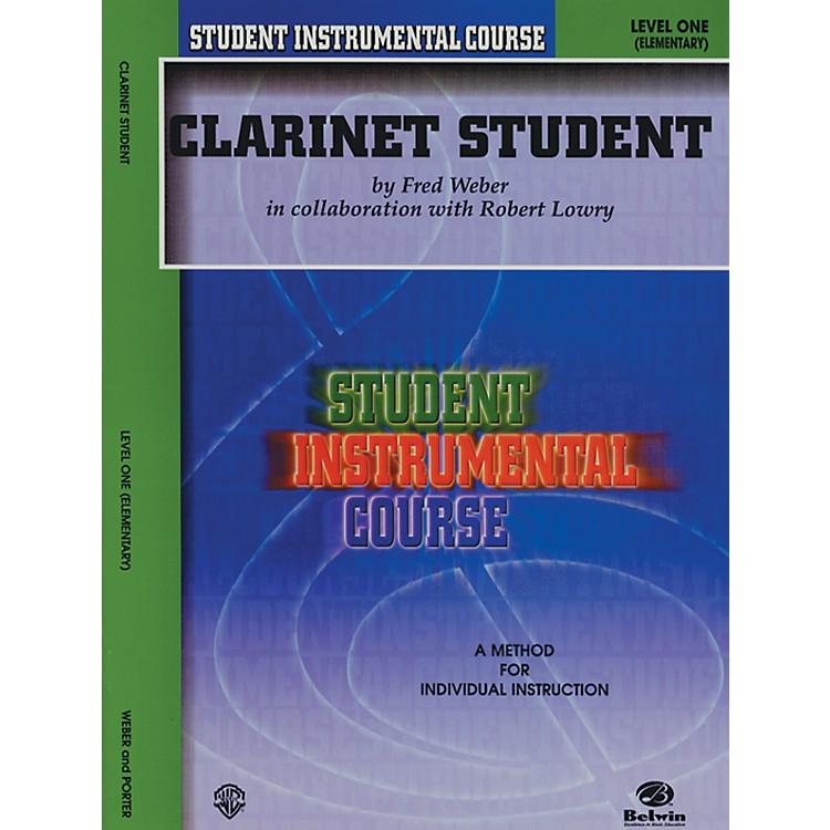 AlfredStudent Instrumental Course Clarinet Student Level I