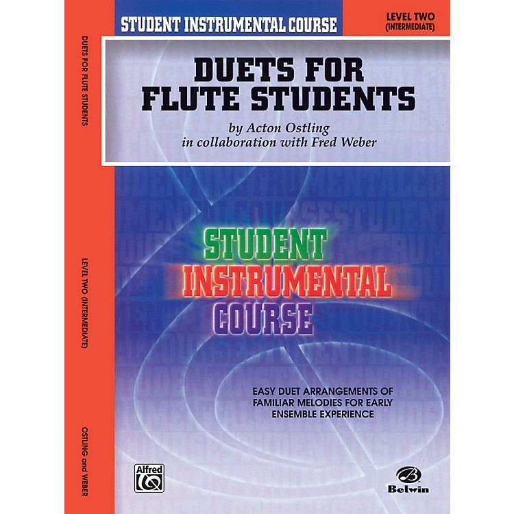 AlfredStudent Instrumental Course Duets for Flute Students Level 2 Book