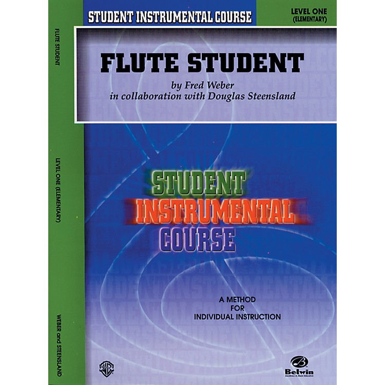 AlfredStudent Instrumental Course Flute Student Level I