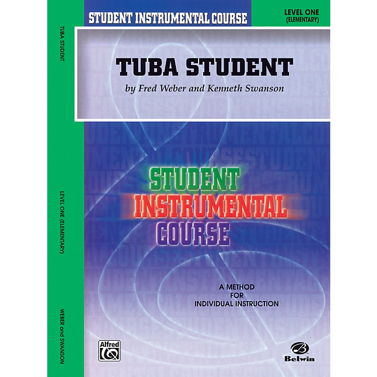 AlfredStudent Instrumental Course Tuba Student Level 1 Book