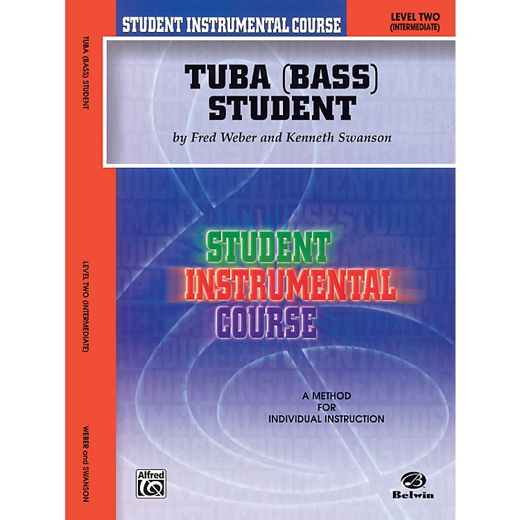AlfredStudent Instrumental Course Tuba Student Level 2 Book