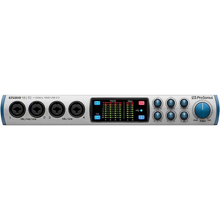 PreSonusStudio 1810 (18x8 USB 2.0 24-bit/192 kHz Audio Interface)