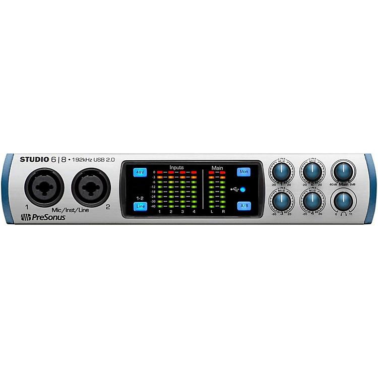 PreSonusStudio 68 (6x8 USB 2.0 24-bit 192 kHz Audio Interface)