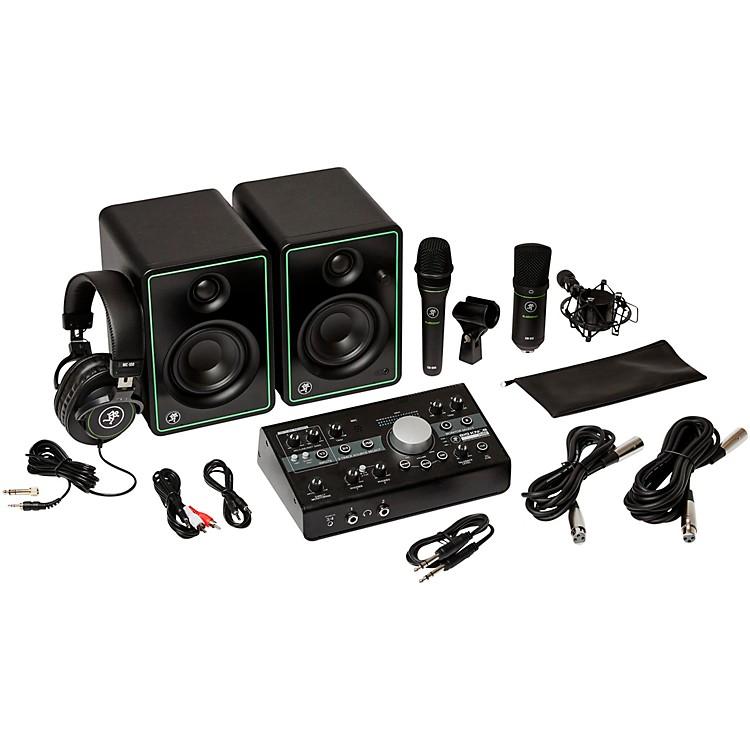 MackieStudio Bundle with CR3-X Monitors, Big Knob Studio Interface, EM89D Dynamic Mic, EM91C Condenser Mic and MC-100 Headphones