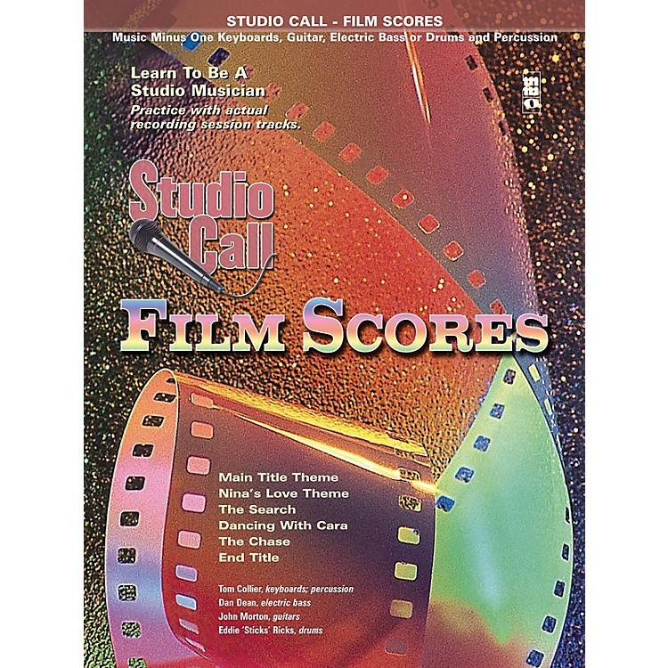 Music Minus OneStudio Call: Film Scores - Drums (Learn to Be a Studio Musician) Music Minus One Series Softcover with CD