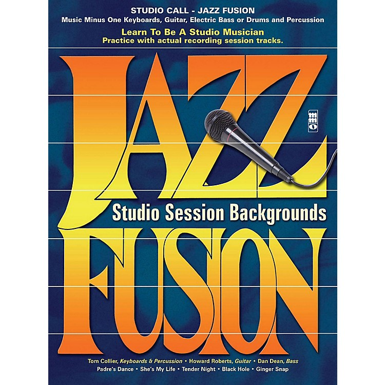 Music Minus OneStudio Call: Jazz/Fusion - Guitar Music Minus One Series Softcover with CD