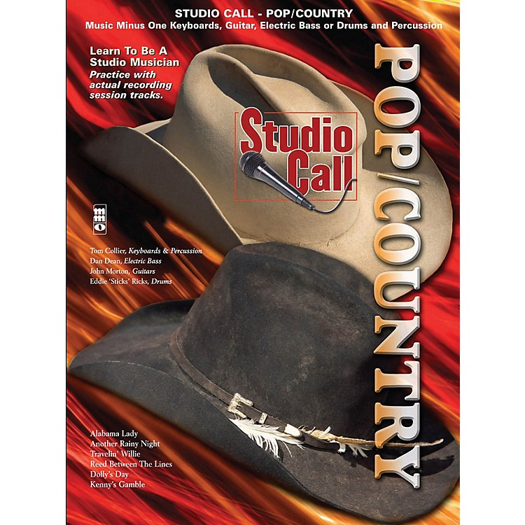 Music Minus OneStudio Call: Pop/Country Minus Drums Music Minus One Series Softcover with CD