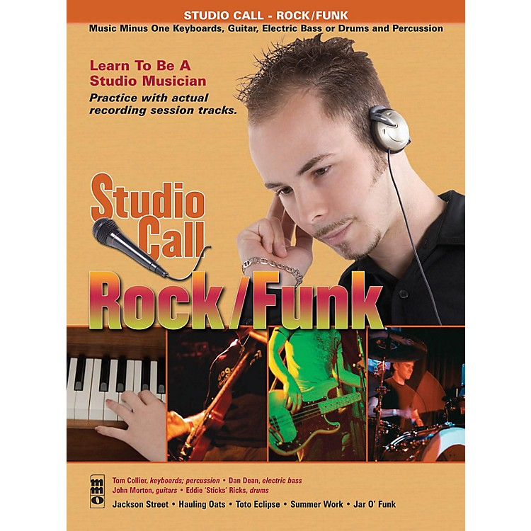 Hal LeonardStudio Call: Rock/Funk - Guitar (Learn to Be a Studio Musician!) Music Minus One Series Softcover with CD