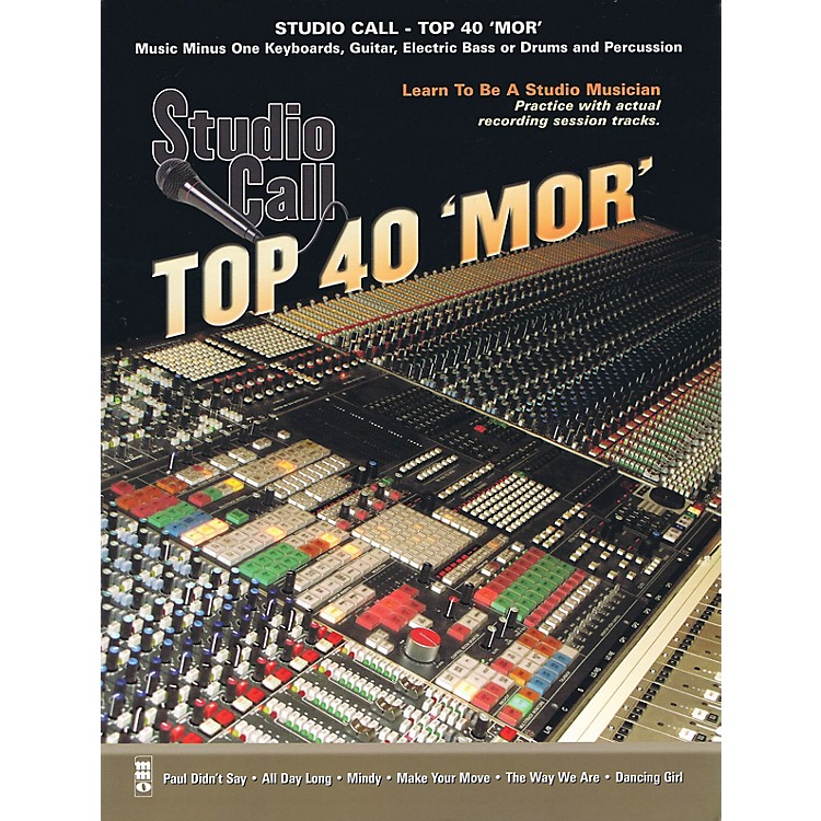 Music Minus OneStudio Call: Top 40 'Mor' - Guitar Music Minus One Series Softcover with CD