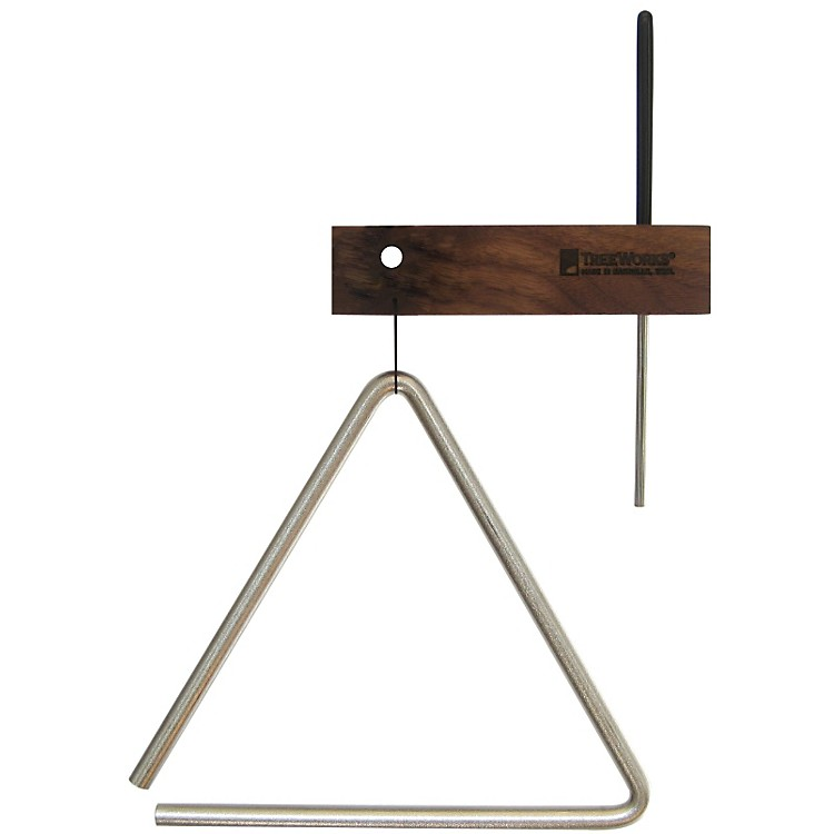 Treeworks Studio Grade Triangle with Beater & Holder 10 in.