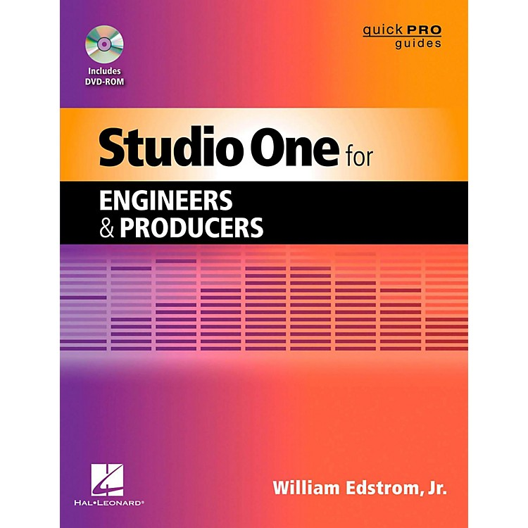 Hal LeonardStudio One For Engineers & Producers  Quick Pro Guides Series Book/DVD-ROM
