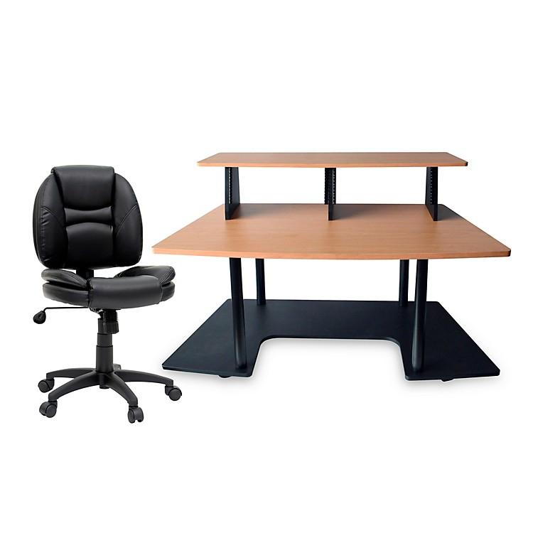 Studio RTAStudio RTA Creation Station Maple and Task Chair DuraPlush Bundle