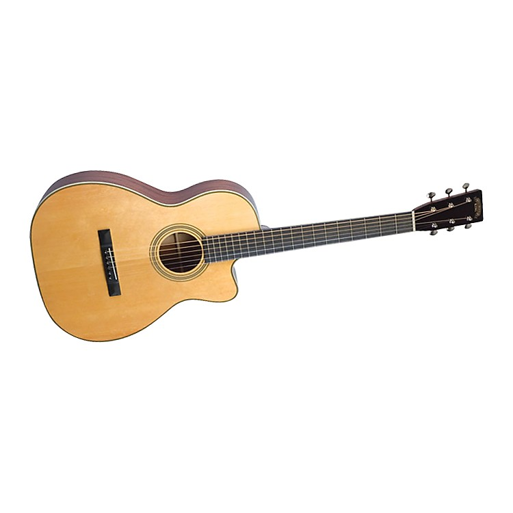 recording king studio series 12 fret o acoustic electric guitar with cutaway music123. Black Bedroom Furniture Sets. Home Design Ideas