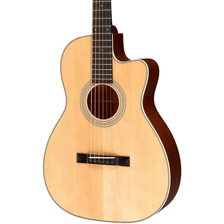 Recording KingStudio Series 12 Fret OO Acoustic Guitar with CutawayNatural190839076878