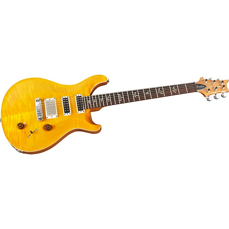 PRS Studio with Stoptail Electric Guitar Santana Yellow