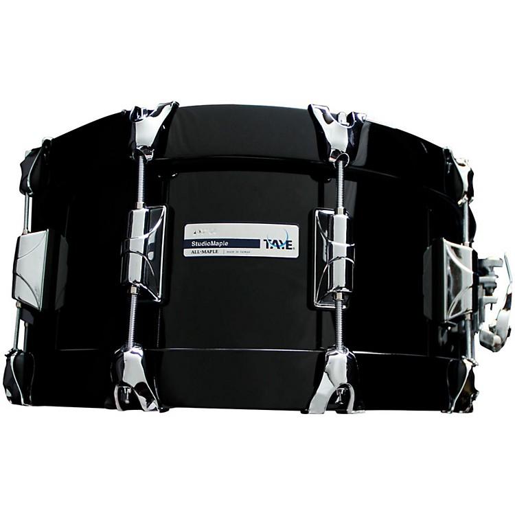 Taye DrumsStudioBirch Wood Hoop Snare Drum14 x 6Piano Black Finish
