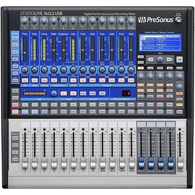 PreSonusStudioLive 16.0.2 USB 16x2 Performance and Recording Digital Mixer