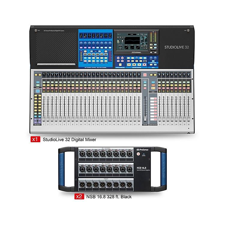 PreSonusStudioLive 32 Starter Dual Stagebox Mix Package