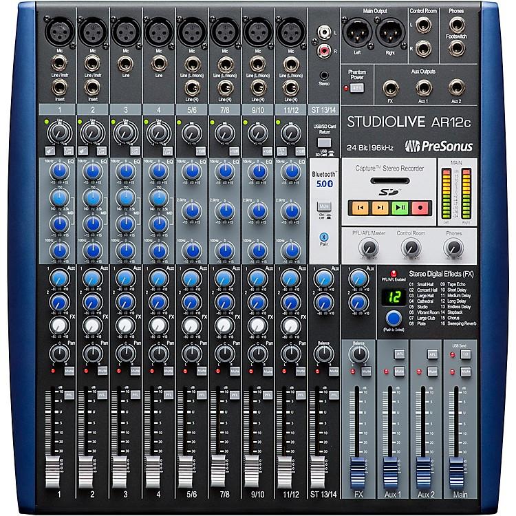 PreSonusStudioLive AR12c 12-Channel Hybrid Digital/Analog Performance Mixer