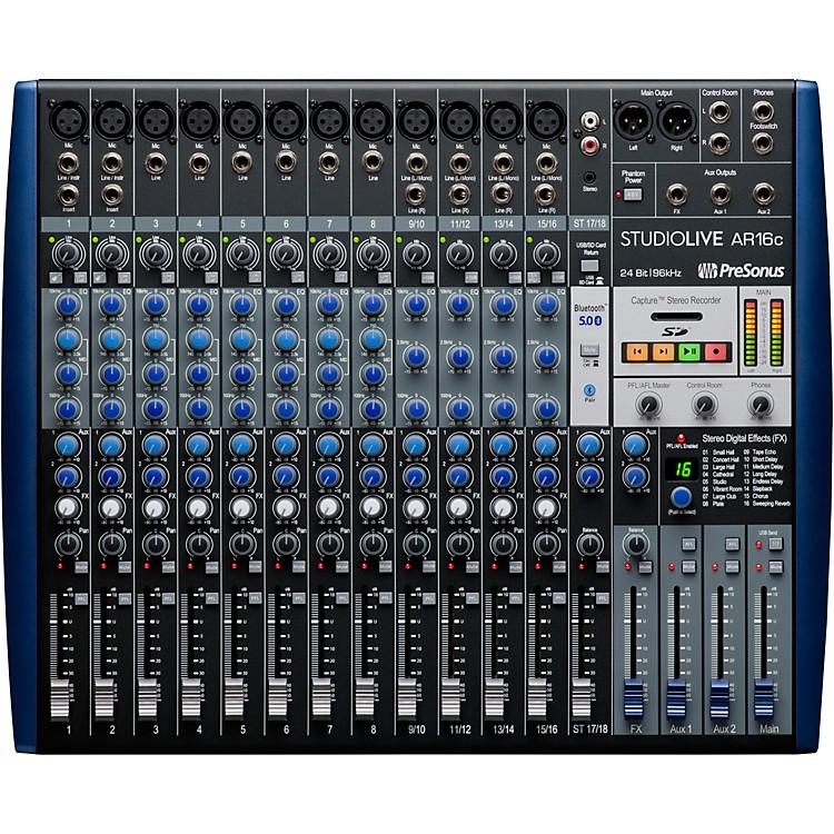 PreSonusStudioLive AR16c 16-Channel Hybrid Digital/Analog Performance Mixer