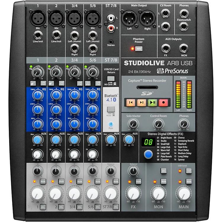 PreSonusStudioLive AR8 8-Channel Hybrid Digital/Analog Performance Mixer