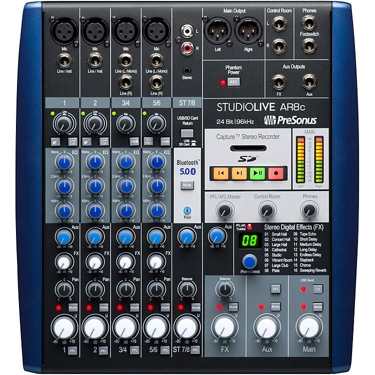 PreSonusStudioLive AR8c 8-Channel Hybrid Digital/Analog Performance Mixer