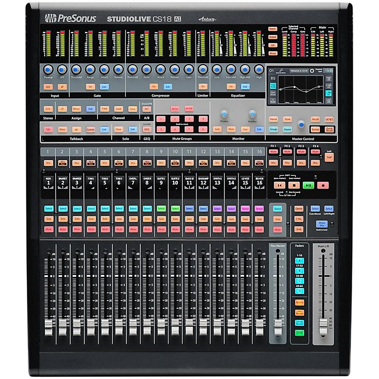 PreSonusStudioLive CS18AI Ethernet/AVB Control Surface with 18 Touch-Sensitive Moving Faders