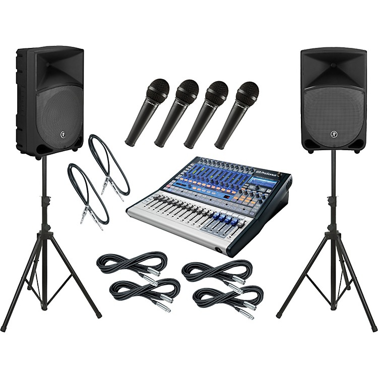 PreSonus Studiolive 16.0.2 / Mackie Thump TH-12A PA Package
