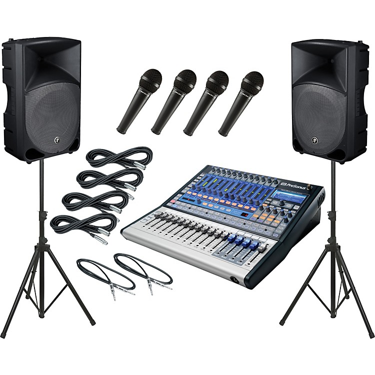 PreSonusStudiolive 16.0.2 / Mackie Thump TH-15A PA Package