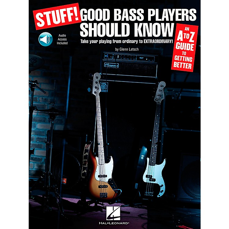 Hal LeonardStuff! Good Bass Players Should Know - An A-Z Guide To Getting Better (Book/CD)