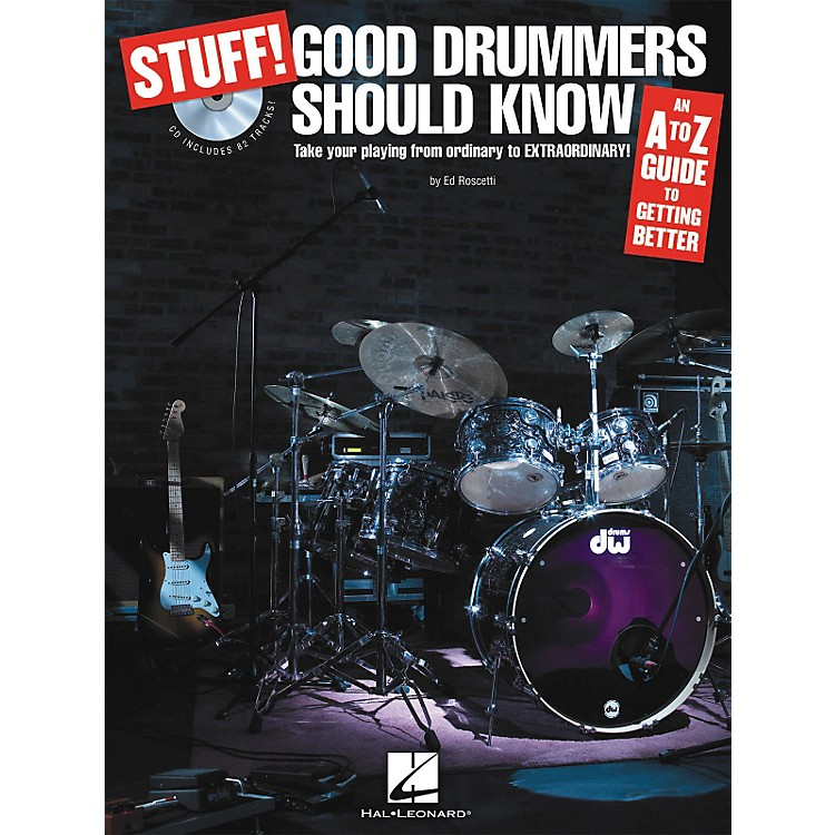 Hal Leonard Stuff! Good Drummers Should Know (Book/CD)