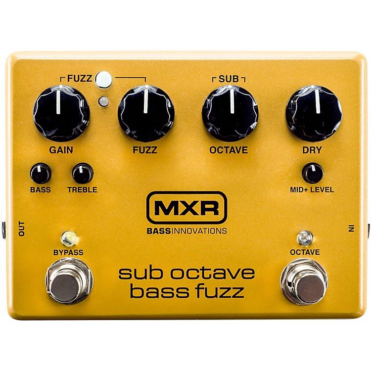 MXRSub Octave Bass Fuzz Pedal