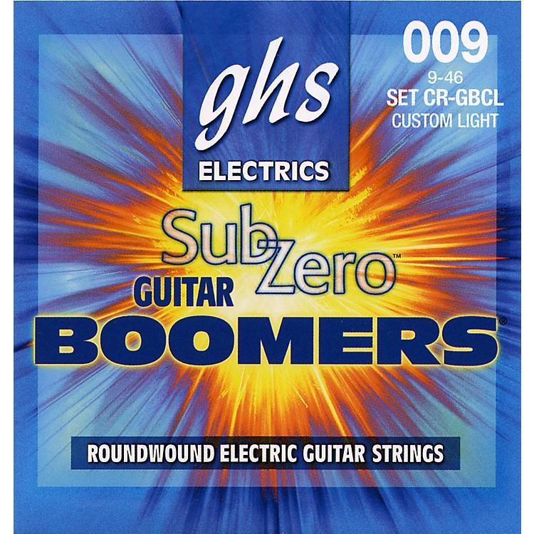 GHSSub Zero Guitar Boomers Custom Light