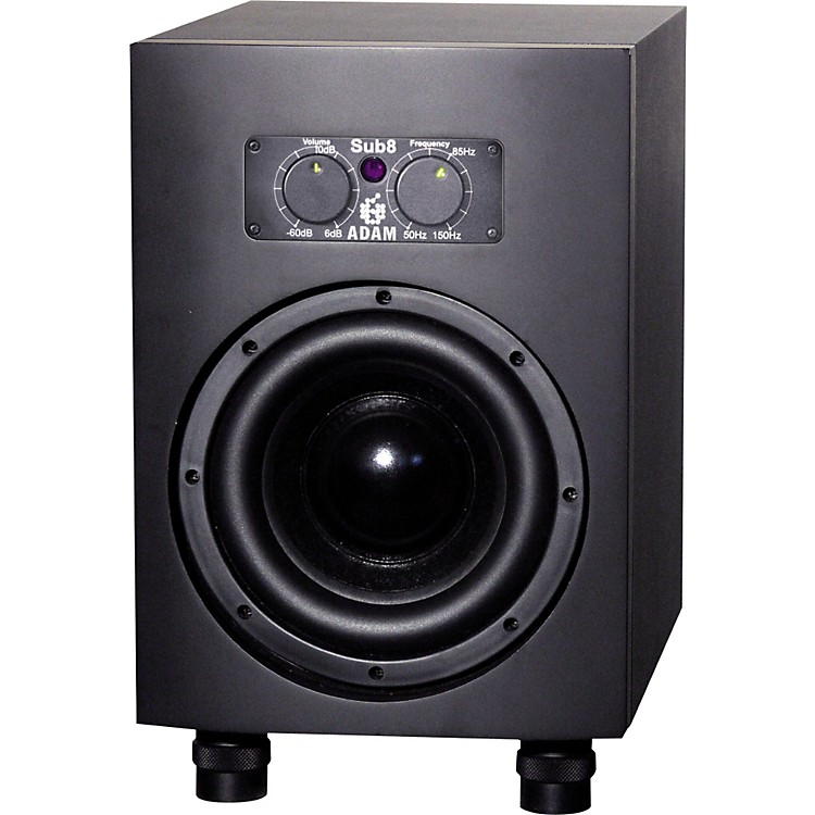 Adam Audio Sub8 Powered Studio Subwoofer Black